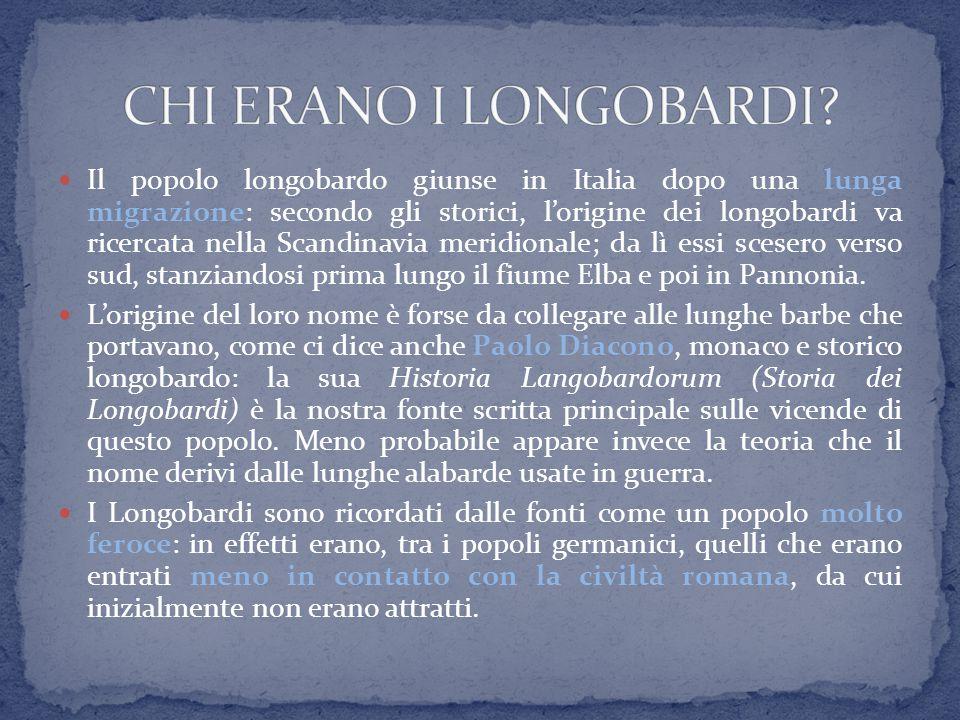 CHI ERANO I LONGOBARDI