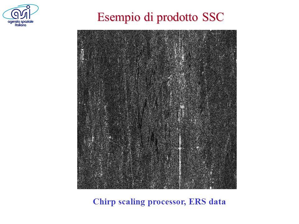 Esempio di prodotto SSC