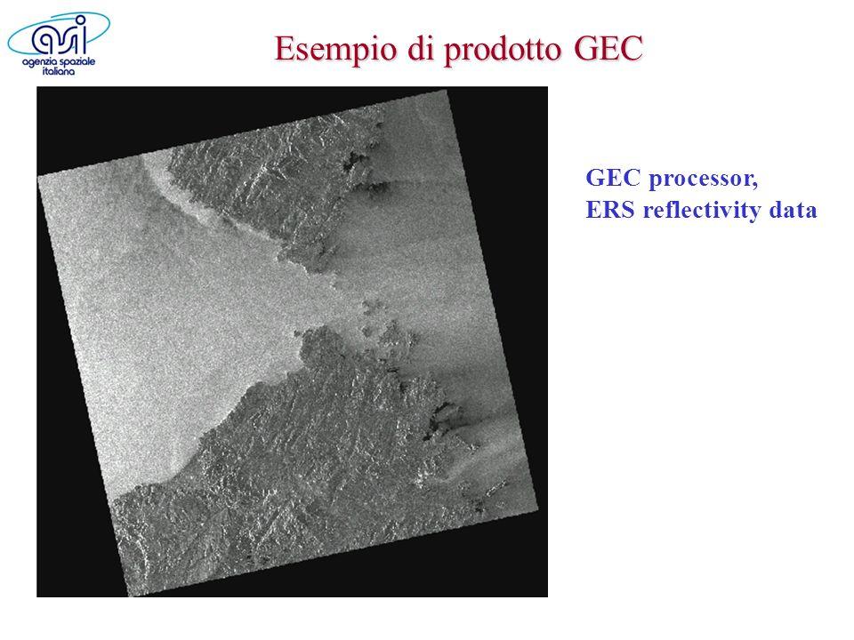 Esempio di prodotto GEC
