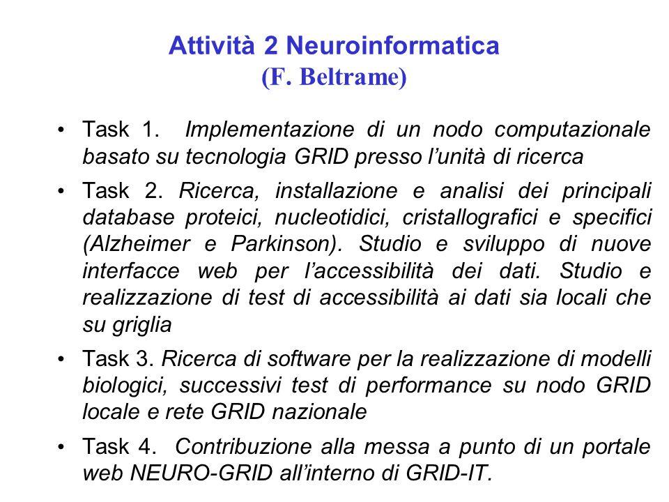 Attività 2 Neuroinformatica (F. Beltrame)