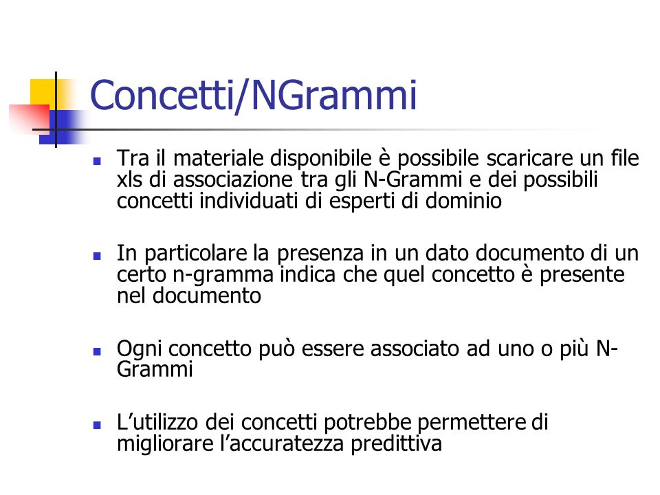 Concetti/NGrammi