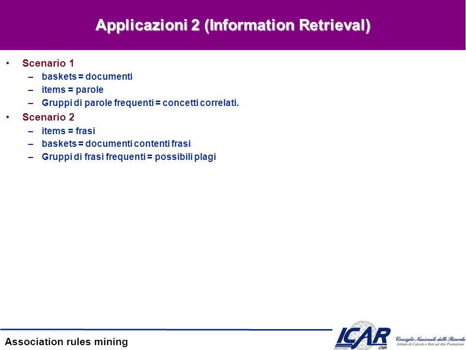 Applicazioni 2 (Information Retrieval)