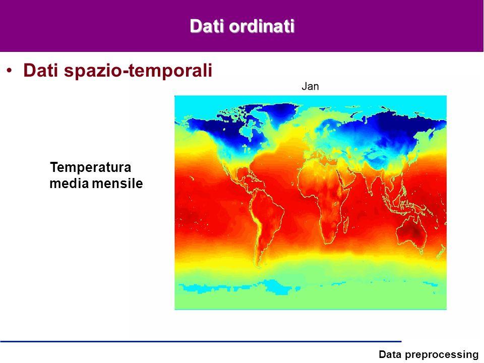 Dati spazio-temporali