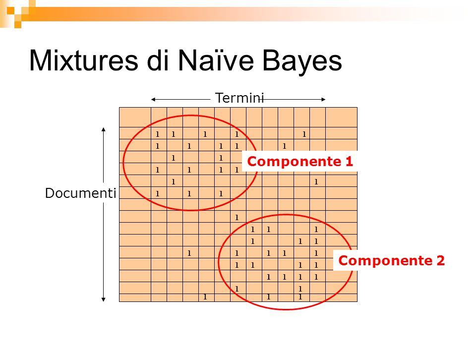 Mixtures di Naïve Bayes