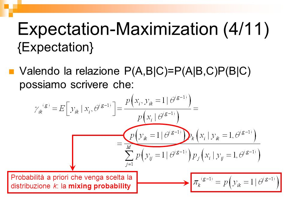 Expectation-Maximization (4/11) {Expectation}