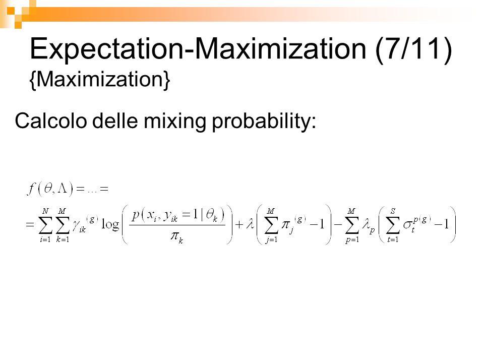 Expectation-Maximization (7/11) {Maximization}