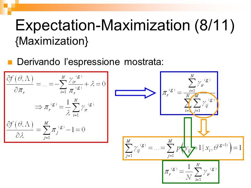 Expectation-Maximization (8/11) {Maximization}