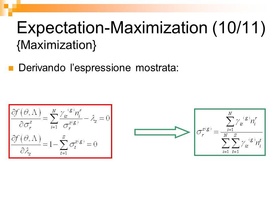 Expectation-Maximization (10/11) {Maximization}