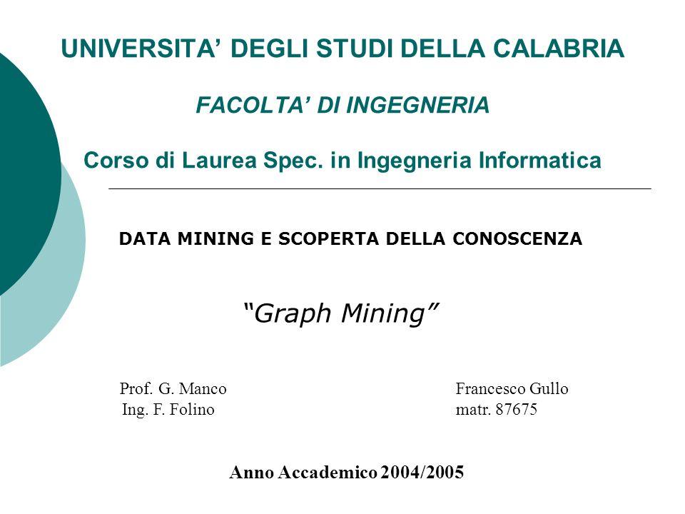 DATA MINING E SCOPERTA DELLA CONOSCENZA