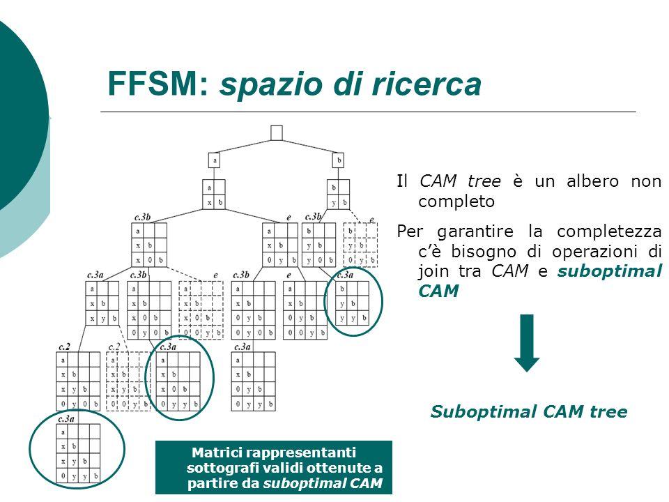 FFSM: spazio di ricerca