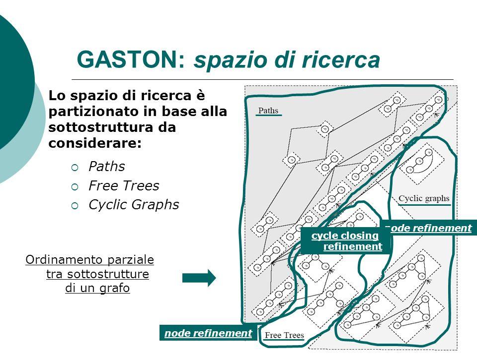 GASTON: spazio di ricerca