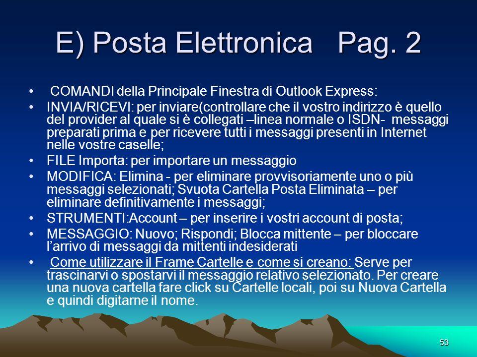 E) Posta Elettronica Pag. 2