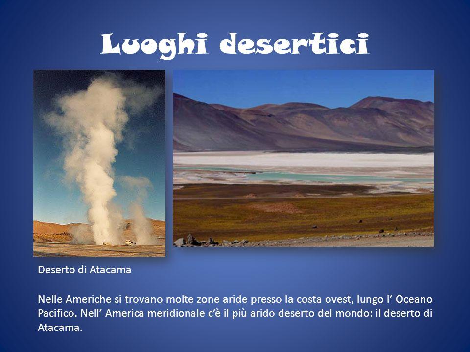 Luoghi desertici Deserto di Atacama