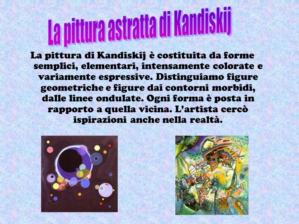La pittura astratta di Kandiskij