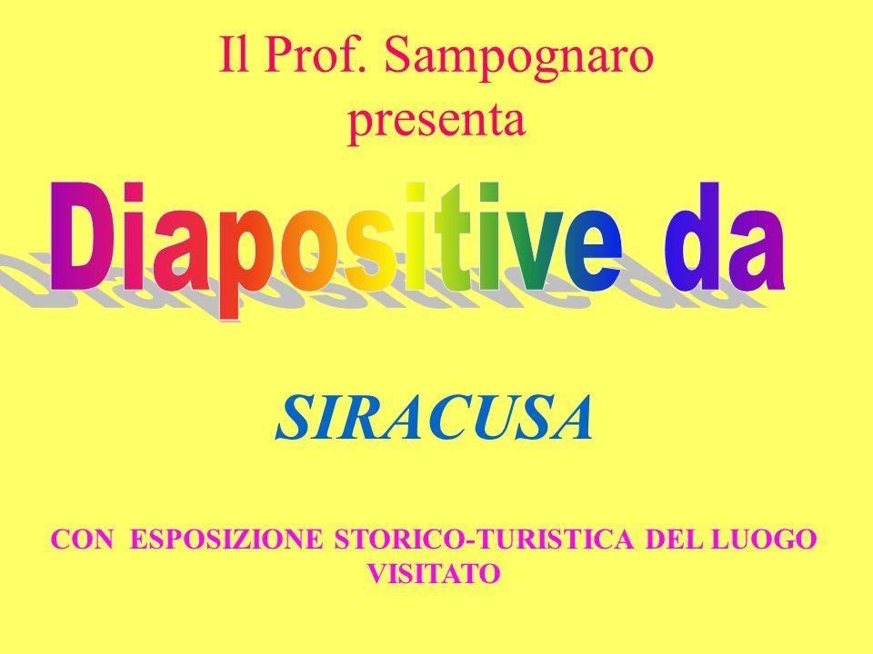 Il Prof. Sampognaro presenta