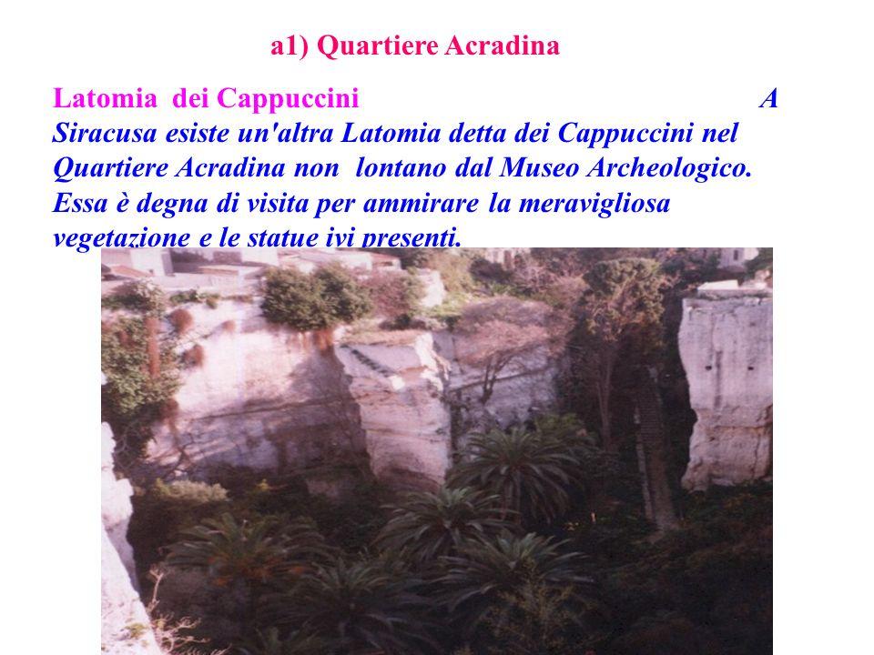 a1) Quartiere Acradina