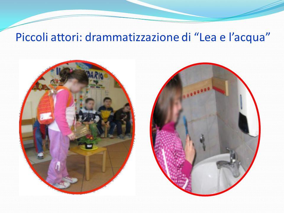 Piccoli attori: drammatizzazione di Lea e l'acqua