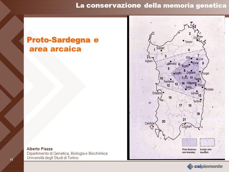 Proto-Sardegna e area arcaica
