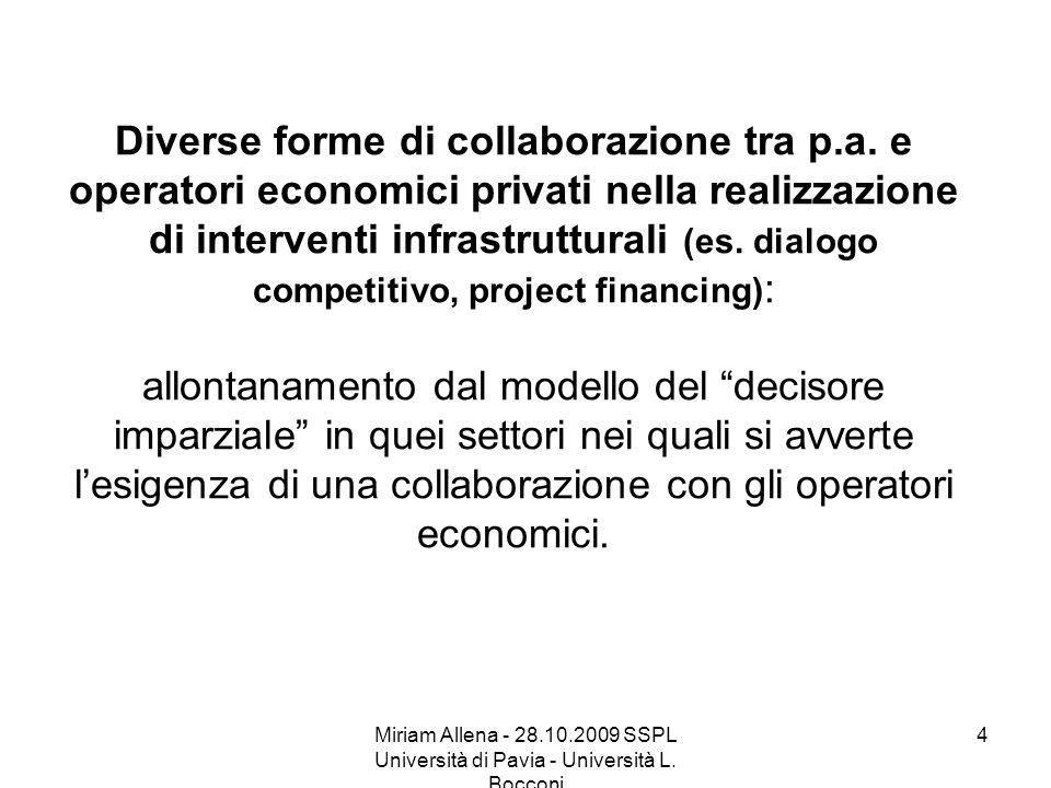 Diverse forme di collaborazione tra p. a
