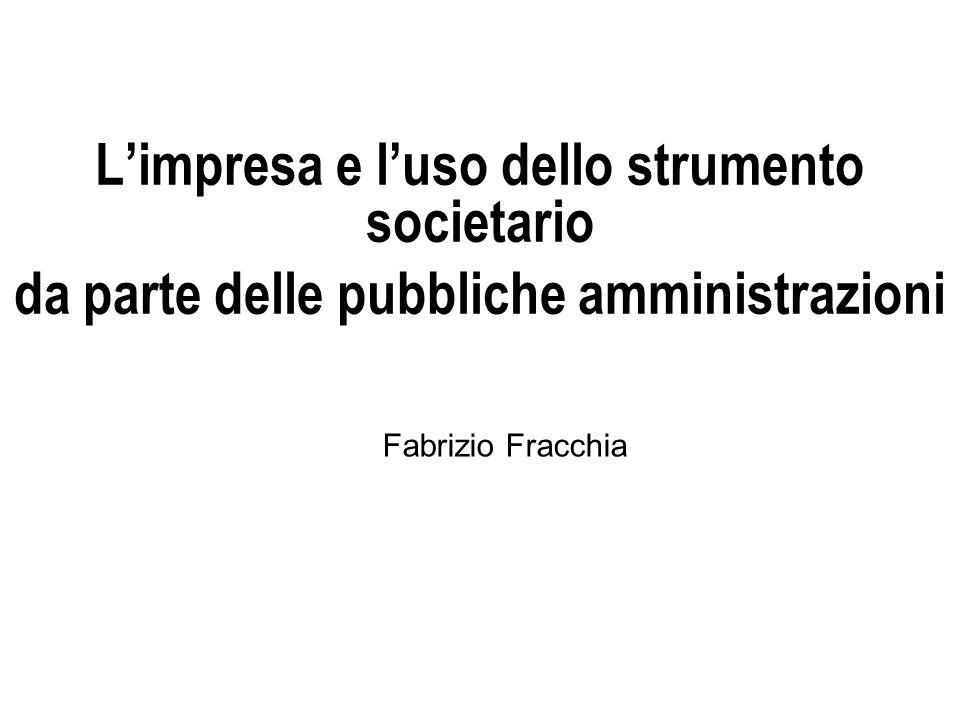 Responsabilità dei direttori generali Fabrizio Fracchia