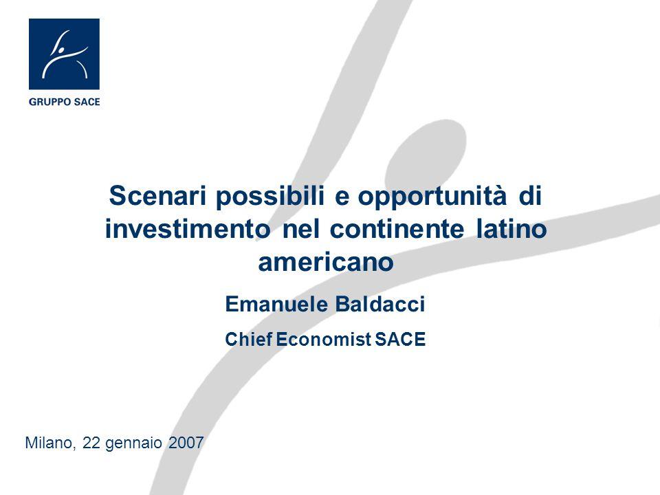 Scenari possibili e opportunità di investimento nel continente latino americano