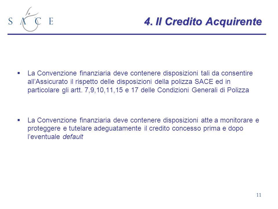 4. Il Credito Acquirente