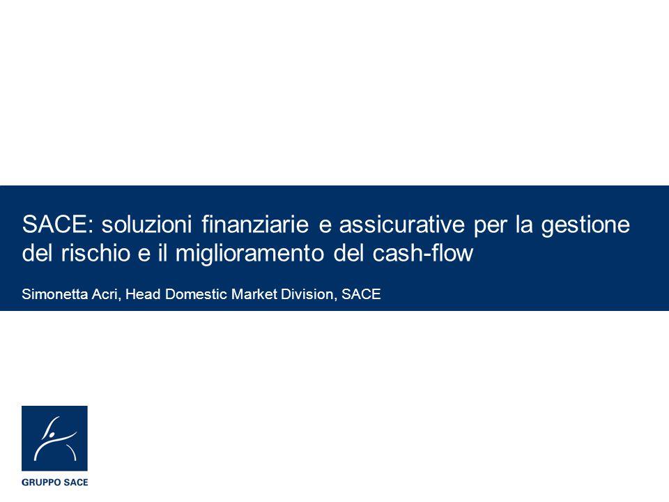 SACE: soluzioni finanziarie e assicurative per la gestione del rischio e il miglioramento del cash-flow