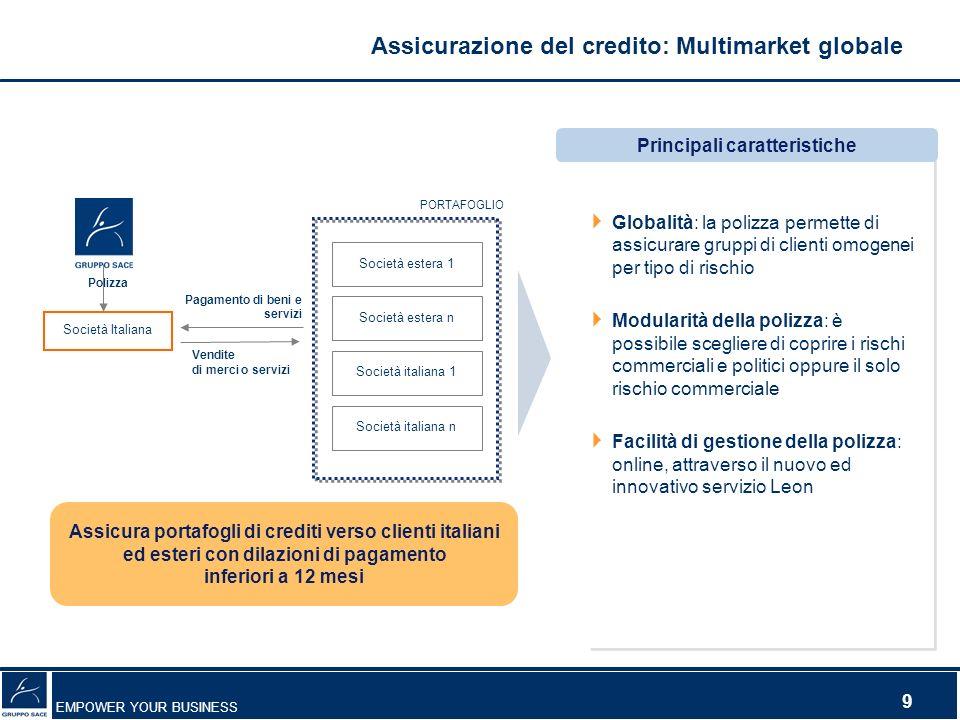 Assicurazione del credito: Multimarket globale