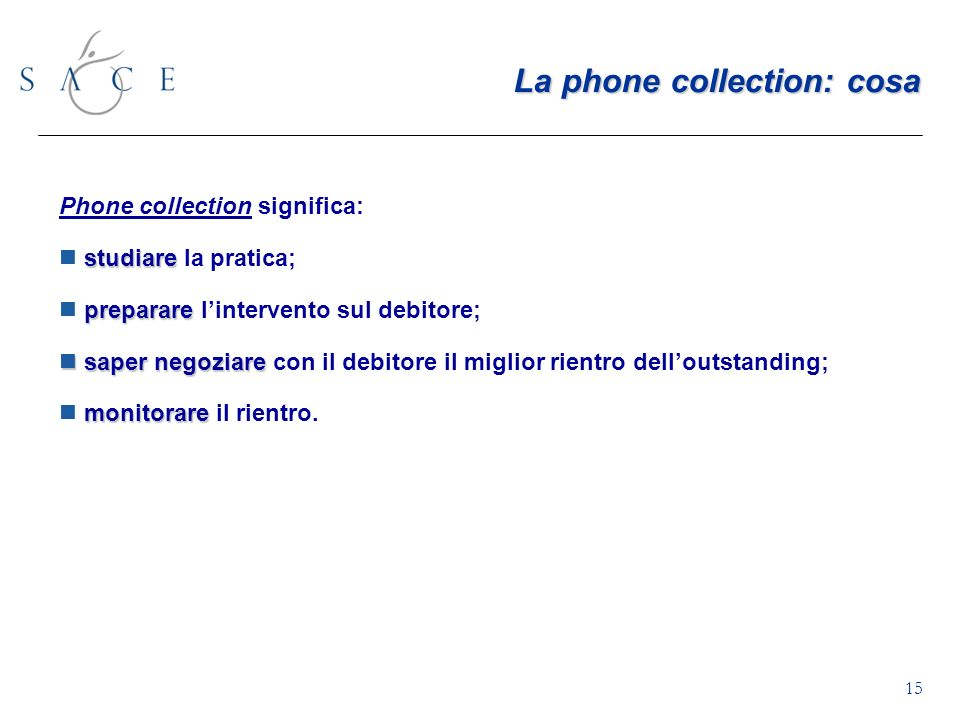 La phone collection: cosa