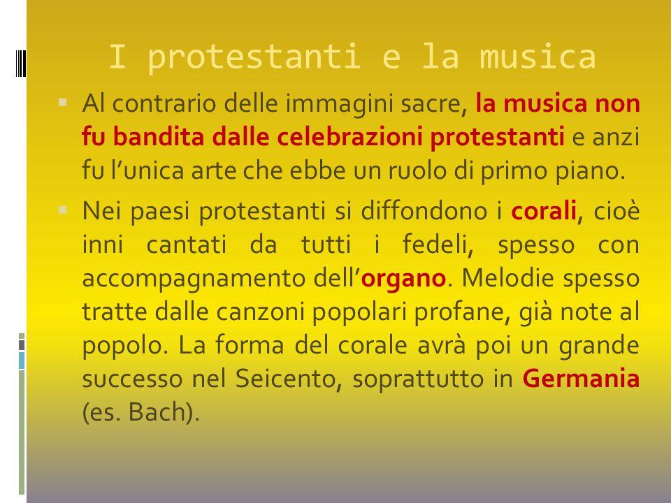 I protestanti e la musica