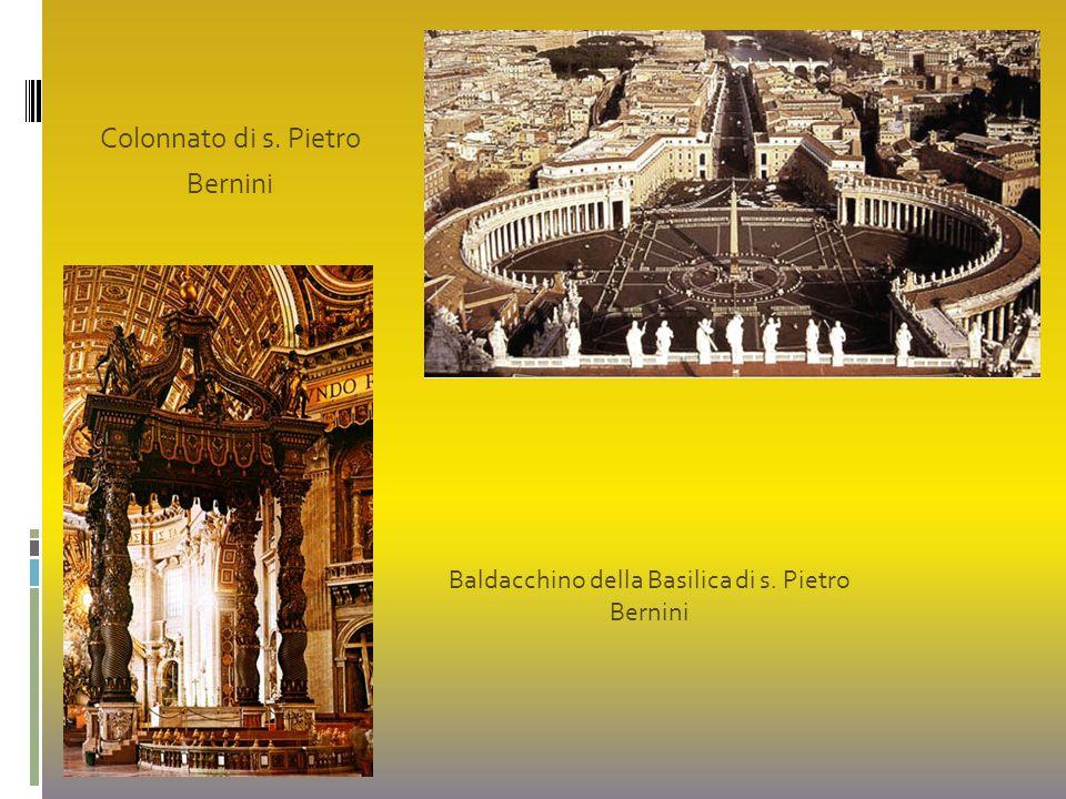 Baldacchino della Basilica di s. Pietro
