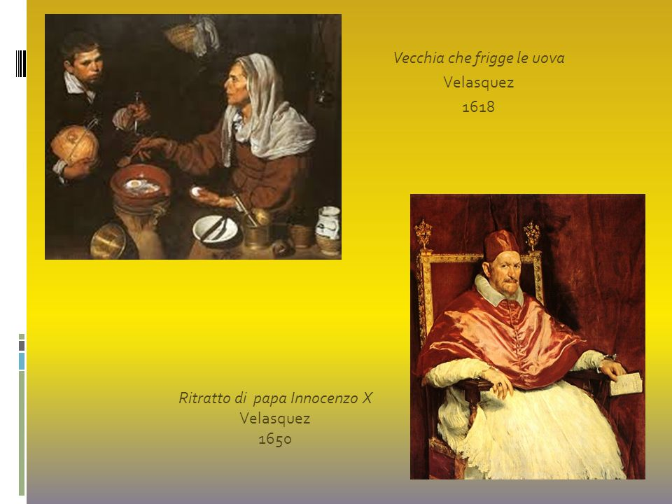 Vecchia che frigge le uova Velasquez 1618