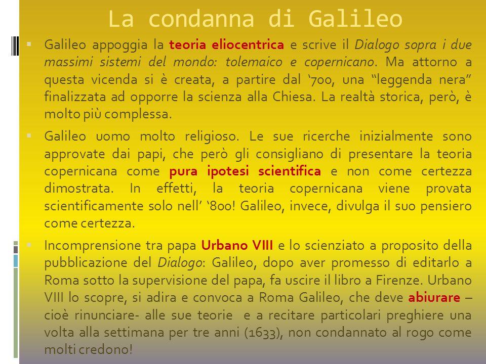 La condanna di Galileo