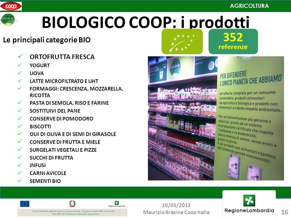 BIOLOGICO COOP: i prodotti