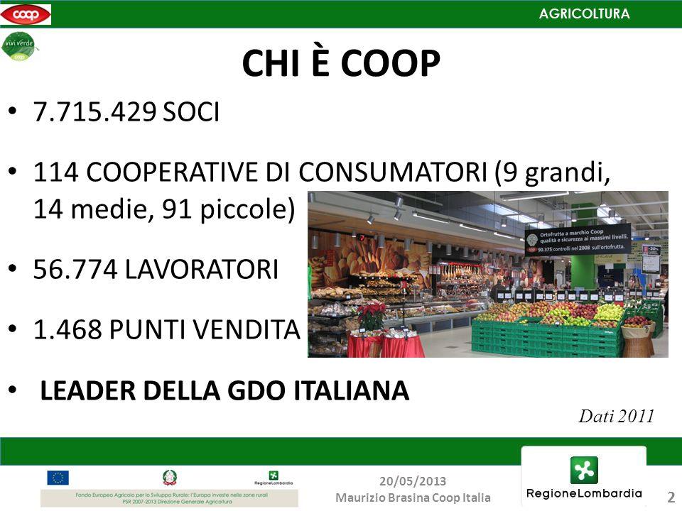 Maurizio Brasina Coop Italia