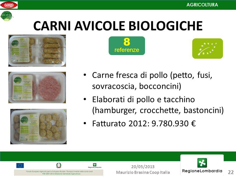 CARNI AVICOLE BIOLOGICHE