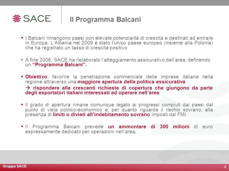 Il Programma Balcani