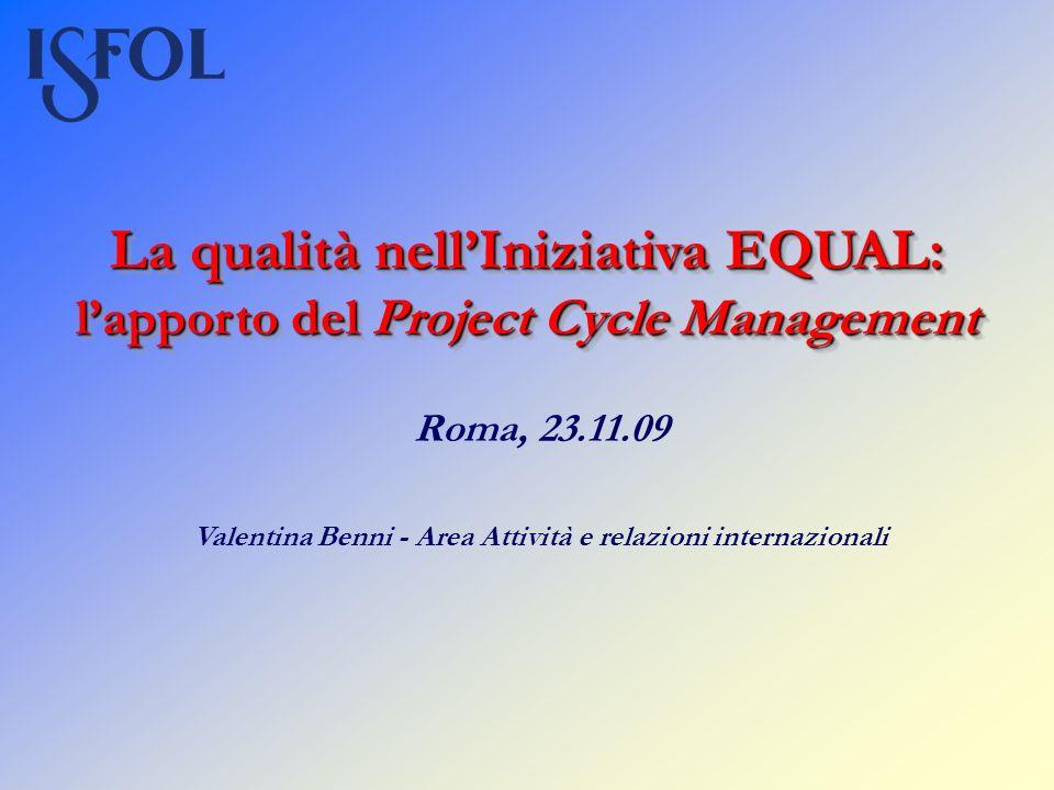 Valentina Benni - Area Attività e relazioni internazionali