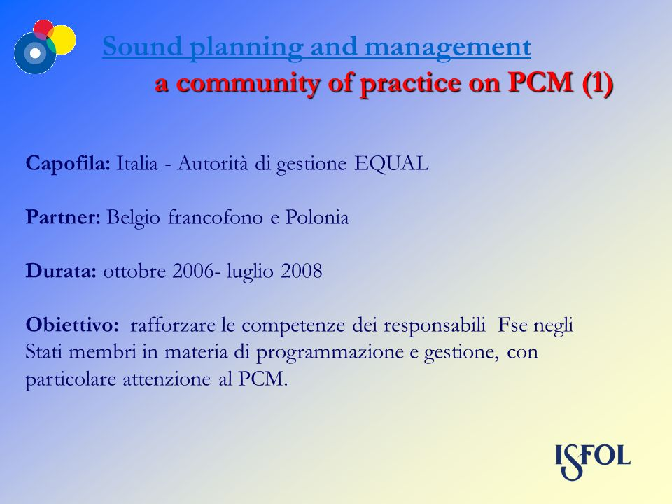 a community of practice on PCM (1)