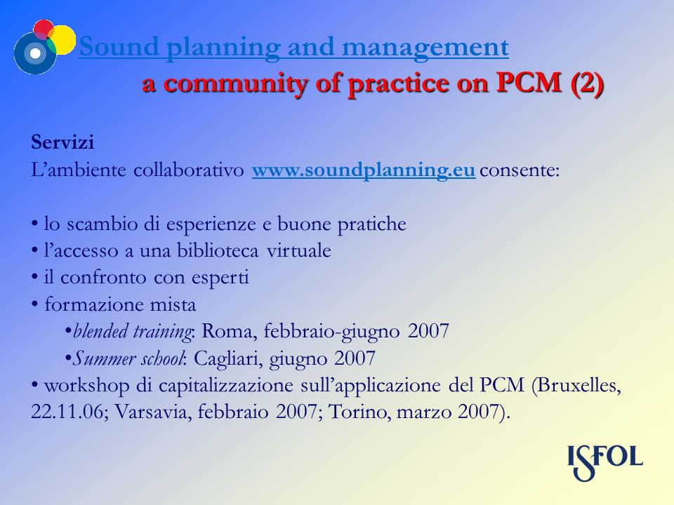a community of practice on PCM (2)