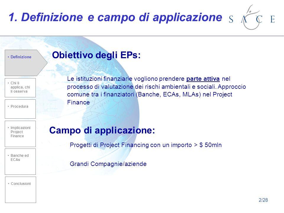 1. Definizione e campo di applicazione