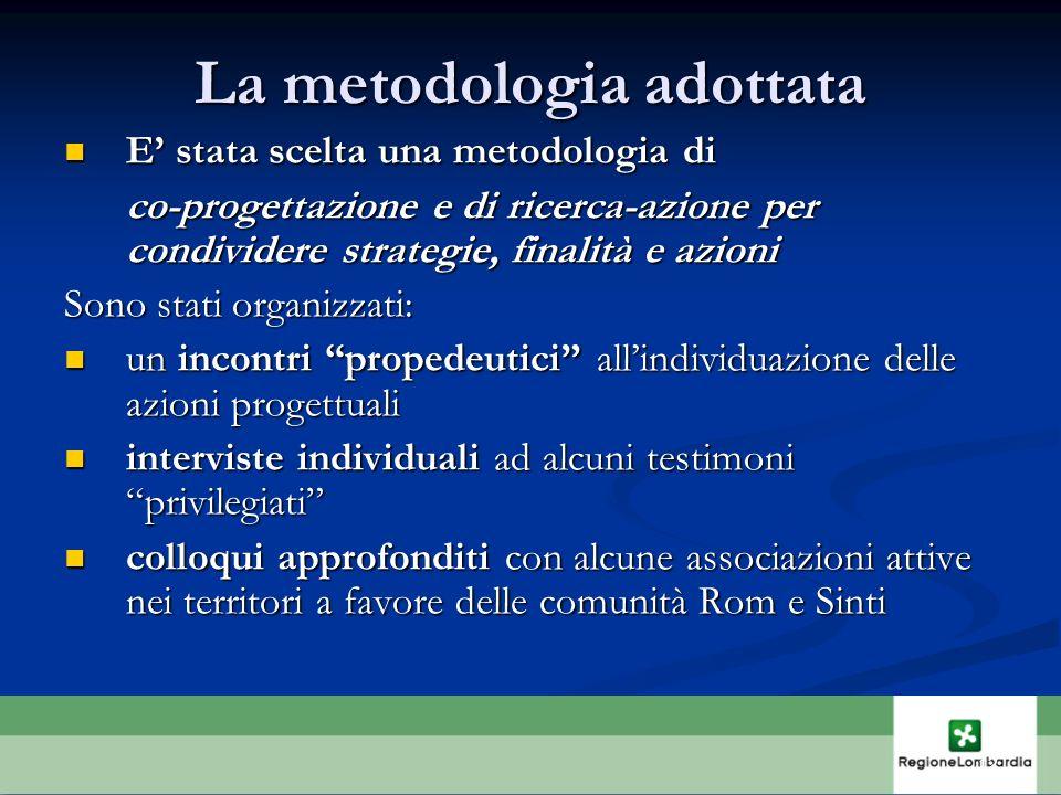 La metodologia adottata