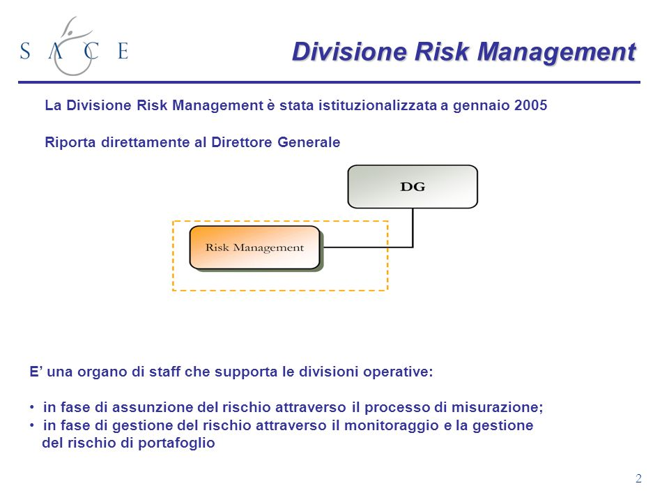 Divisione Risk Management