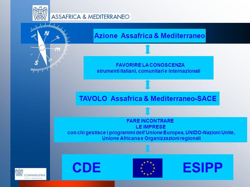 CDE ESIPP Azione Assafrica & Mediterraneo