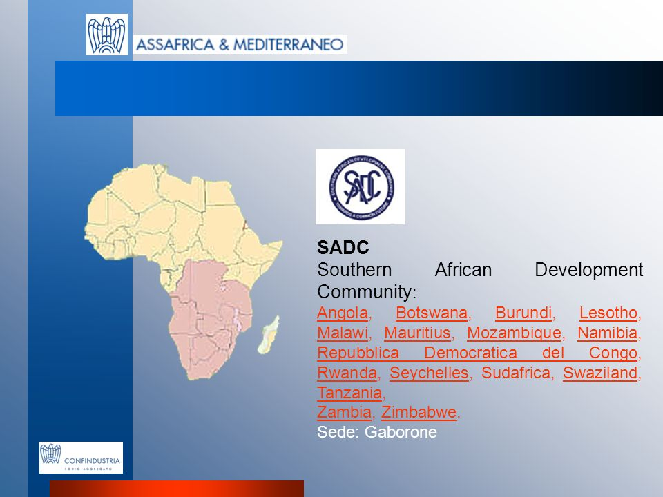 Southern African Development Community:
