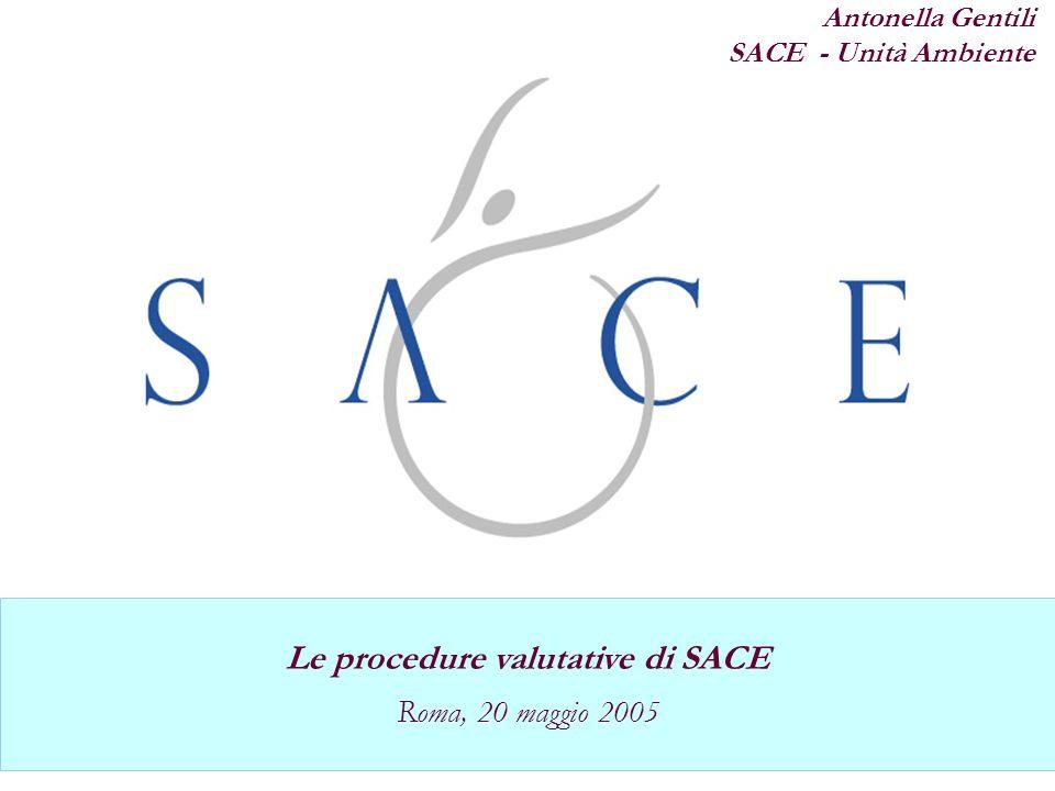 Le procedure valutative di SACE