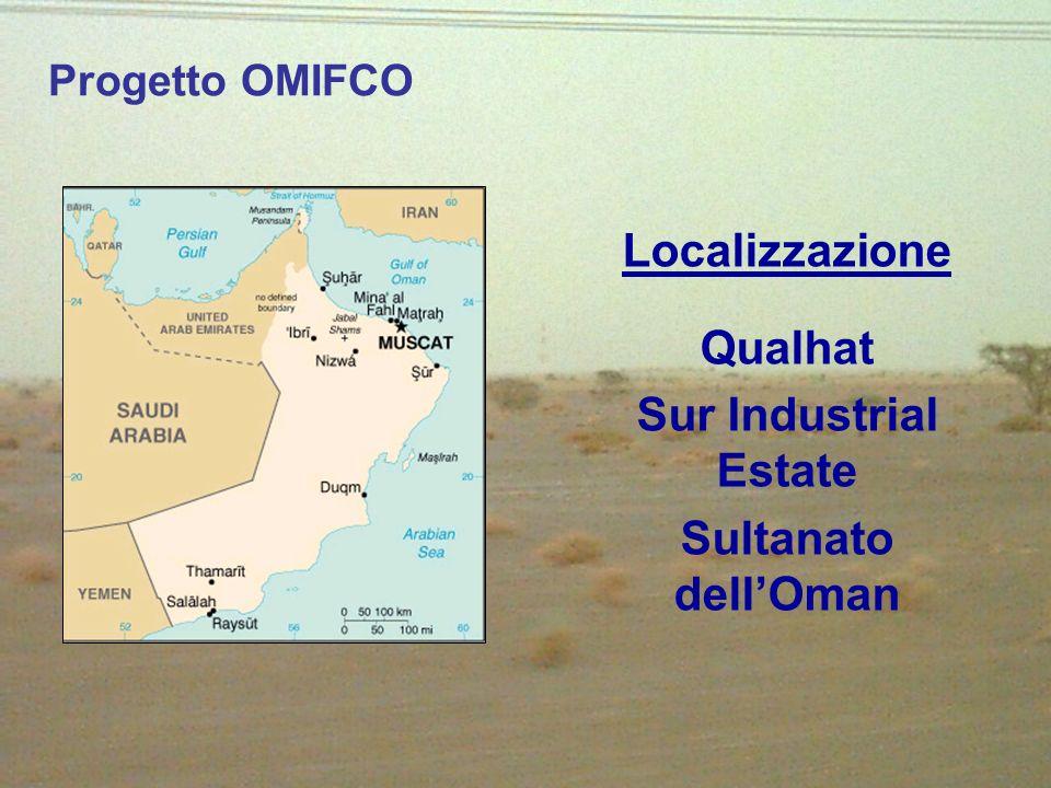 Localizzazione Qualhat Sur Industrial Estate Sultanato dell'Oman