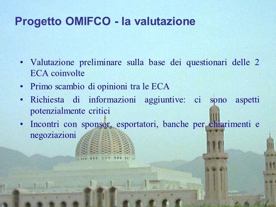 Progetto OMIFCO - la valutazione