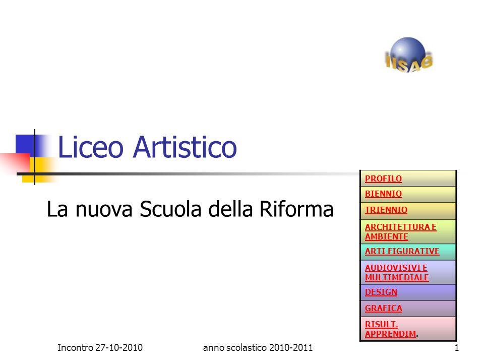 Liceo Artistico Terni La nuova Scuola della Riforma
