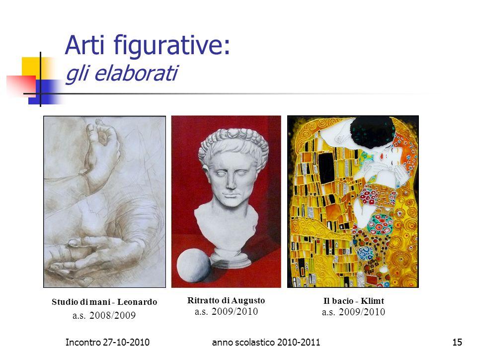 Arti figurative: gli elaborati